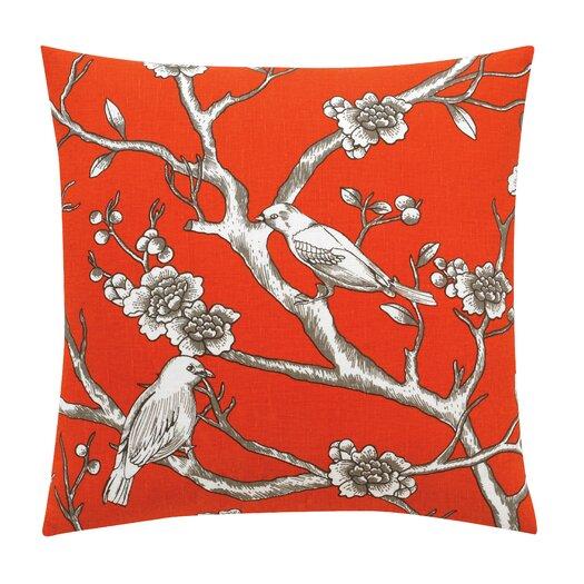 DwellStudio Vintage Blossom Persimmon Pillow