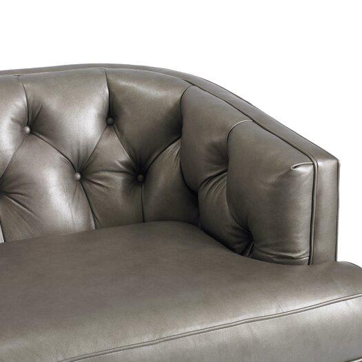 DwellStudio Chester Leather Sofa
