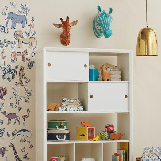 DwellStudio Giraffe Natural Papier-Mâché Head Wall Décor