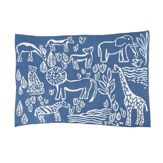 DwellStudio Safari Knit Blanket