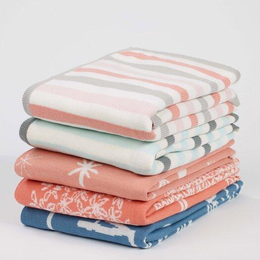 DwellStudio Galaxy Blossom Graphic Knit Blanket