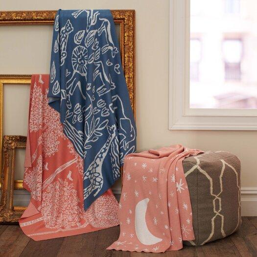 DwellStudio Treetops Knit Blanket