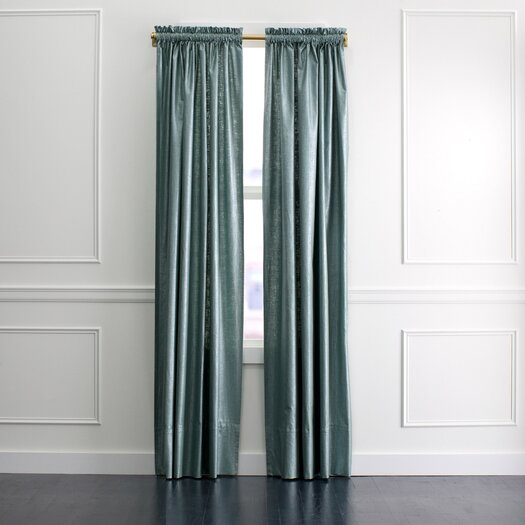 DwellStudio Regency Linen Curtain Panel in Patina