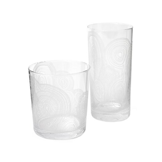 DwellStudio Malachite Drinking Glass