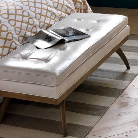 DwellStudio Erickson Leather Bench