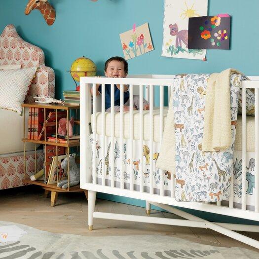 DwellStudio Safari Canvas Crib Skirt