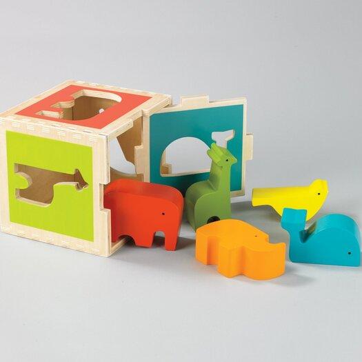DwellStudio Zoo Shape Sorter