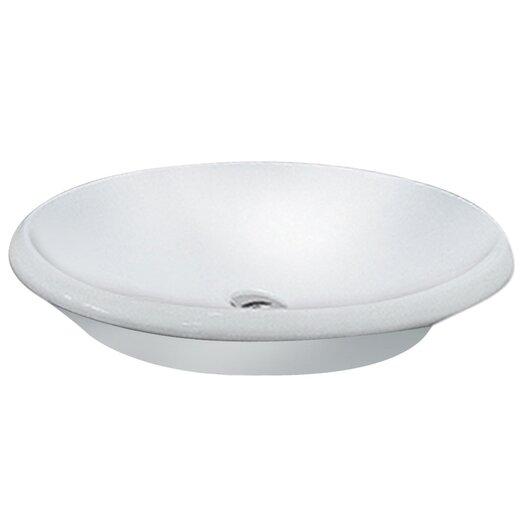 LaToscana Oval Vessel Sink