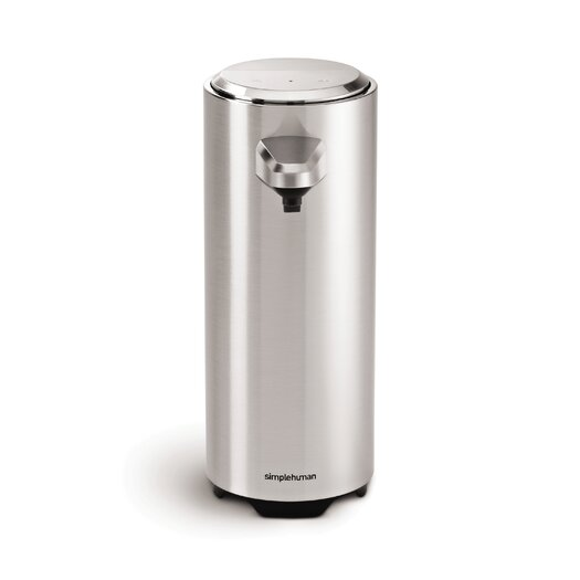 simplehuman 11 oz. Sensor Pump with Soap Sample, Brushed Nickel