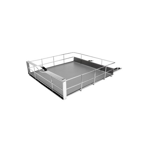 simplehuman 20-inch Pull-Out Cabinet Organizer, Heavy Gauge Steel