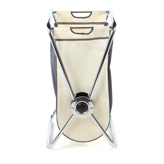 simplehuman Single Steel X-Frame Laundry Hamper