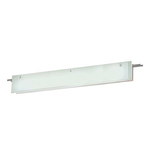 Sonneman Suspended Glass Vanity Light