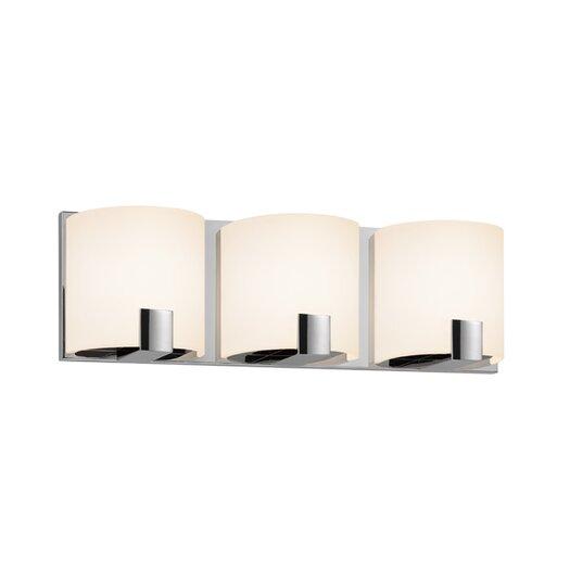 Sonneman C-Shell 3 Light Vanity Light