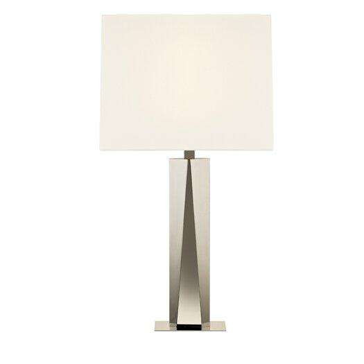 "Sonneman Facet Beam 34.25"" H Table Lamp with Rectangular Shade"