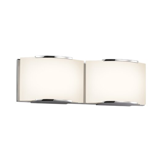 Sonneman Wave 2 Light Vanity Light