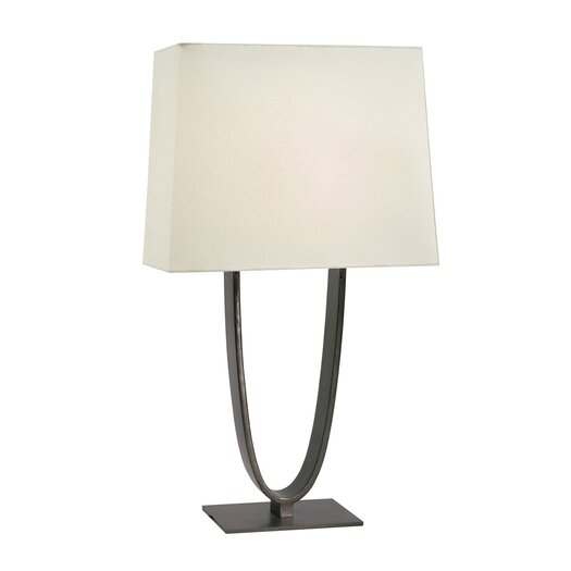 "Sonneman Brava 34"" H Table Lamp with Square Shade"