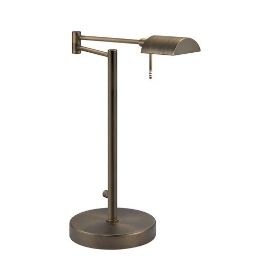 "Sonneman D Lite 16.5"" H Table Lamp with Rectangular Shade"