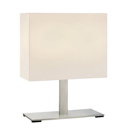 "Sonneman Mitra 18"" H Table Lamp with Rectangular Shade"