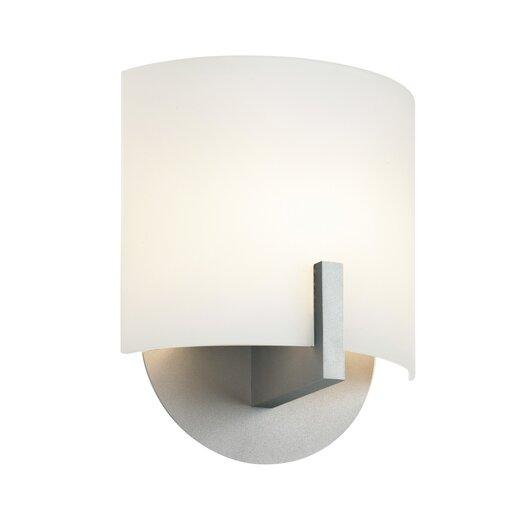Sonneman Scudo 1 Light Wall Sconce