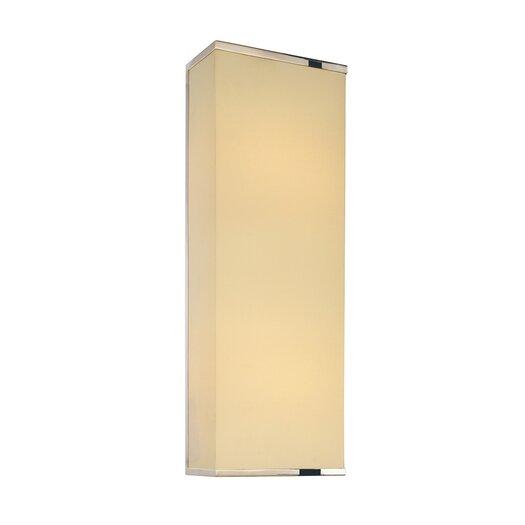 Sonneman Rettangolo 2 Light Corto Wall Sconce
