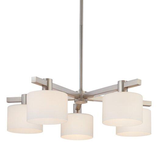 Sonneman Milano 5 Light Pendant