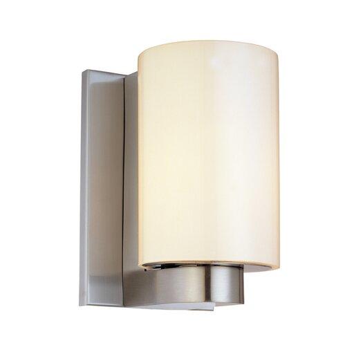 Sonneman Century 1 Light Short Cylinder Wall Sconce