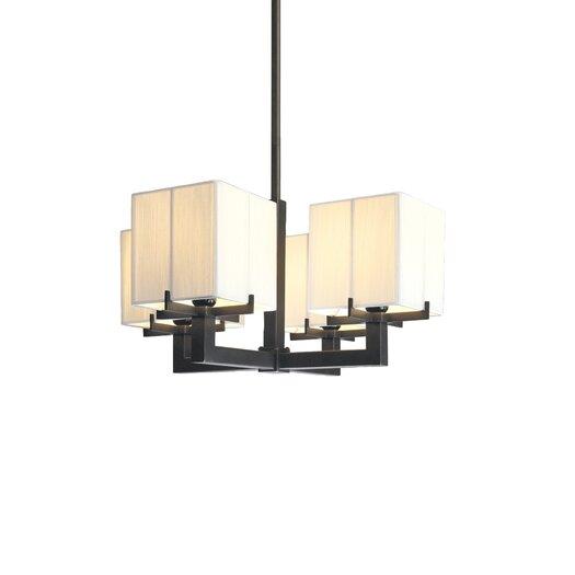 Sonneman Boxus 4 Light Pendant