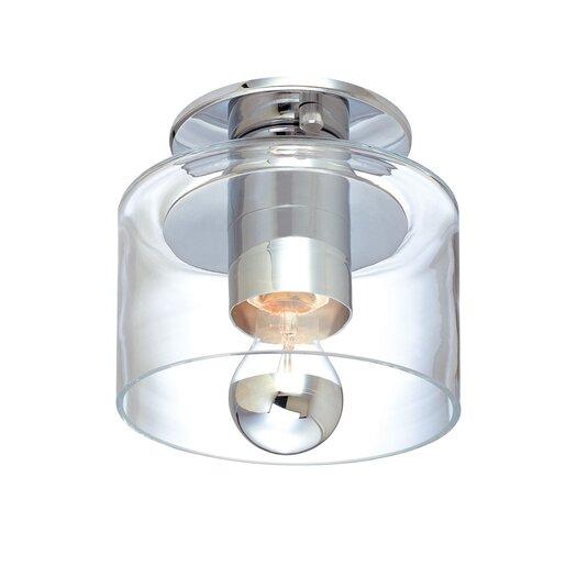 Sonneman Transparence Semi Wall Fixture / Semi Flush Mount