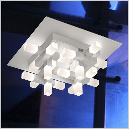 Sonneman Connetix 20 Light Semi Flush Mount