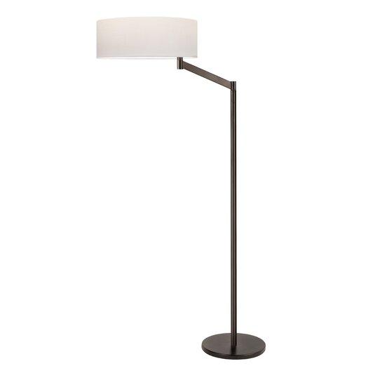 Sonneman Perch Swing Arm 1 Light Floor Lamp