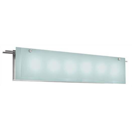 Sonneman Suspended Glass Bath Bar