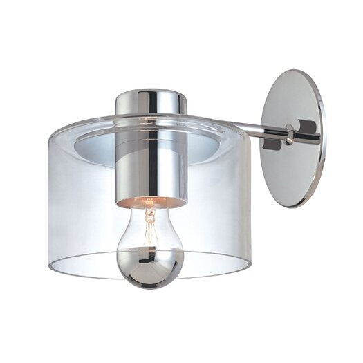 Sonneman Transparence 1 Light Wall Sconce