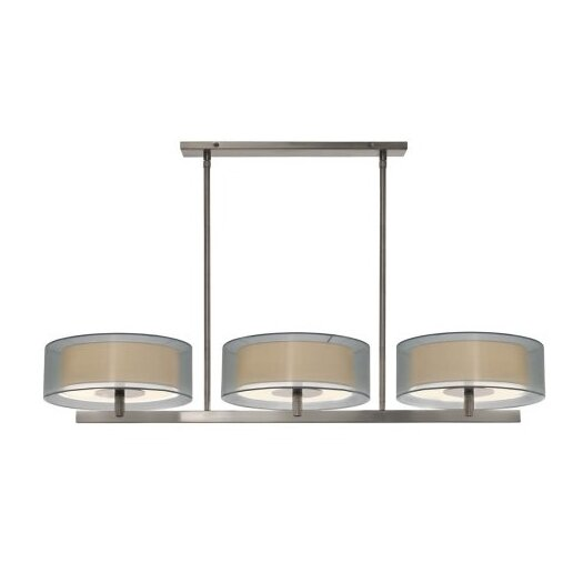 Sonneman Puri 6 Light Bar Drum Pendant