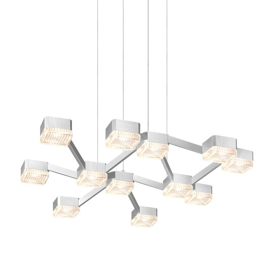 Sonneman Lattice 12 Light Pendant