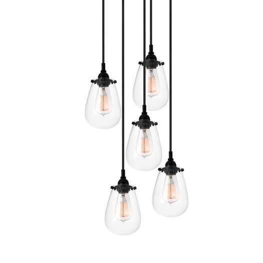 Sonneman Chelsea 5 Light Pendant