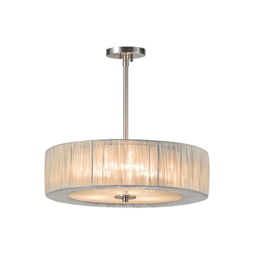 Sonneman Organza Wrap 3 Light Pendant