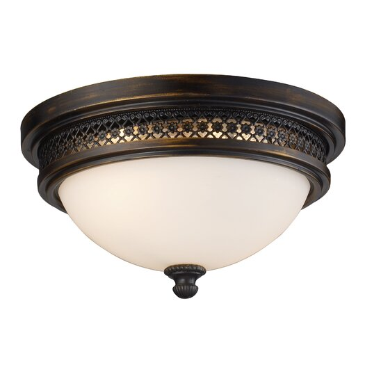 Elk Lighting Flush Mount 2 Lighte