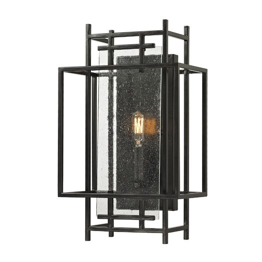 Elk Lighting Intersections 1 Light Wall Sconce