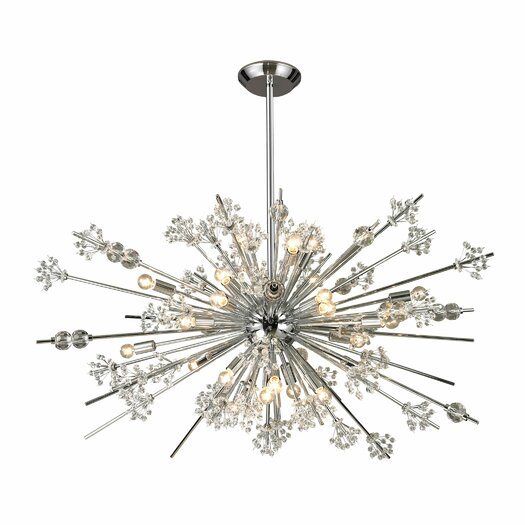 Elk Lighting Starburst 29 Light Chandelier