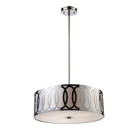 Elk Lighting Anastasia 5 Light Drum Pendant