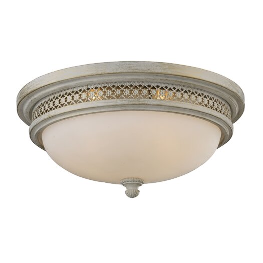 Elk Lighting Flush Mount 3 Lighte