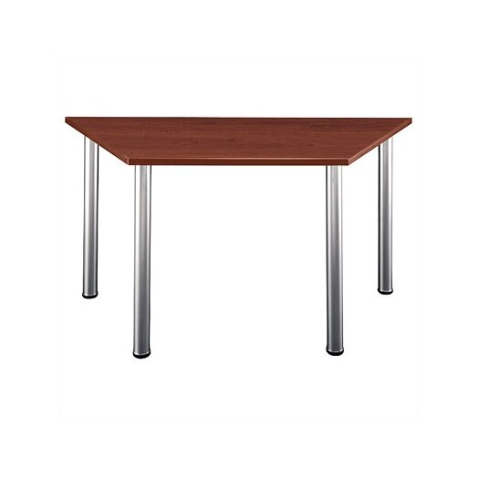 Bush Industries Aspen Trapezoid Training Table
