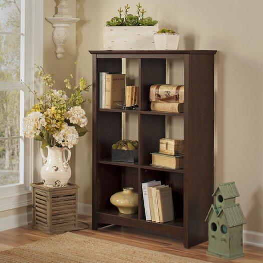 "Bush Industries Buena Vista 47.8"" 6 Cube Storage Bookcase"