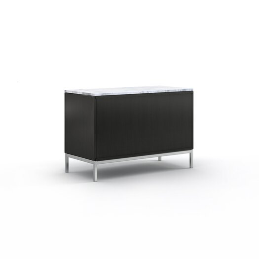 """Knoll ® Florence 37.5"""" Two Position Credenza with Six Drawers"""