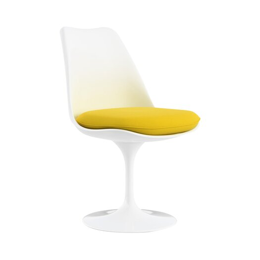 Knoll ® Saarinen Tulip Side Chair with Swivel