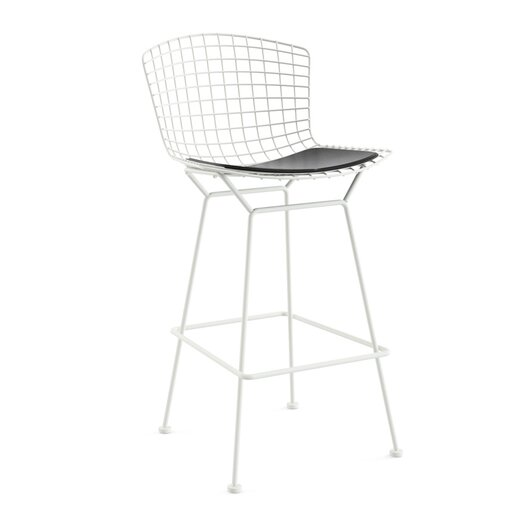 "Knoll ® Bertoia 29.25"" Bar Stool with Seat Pad"