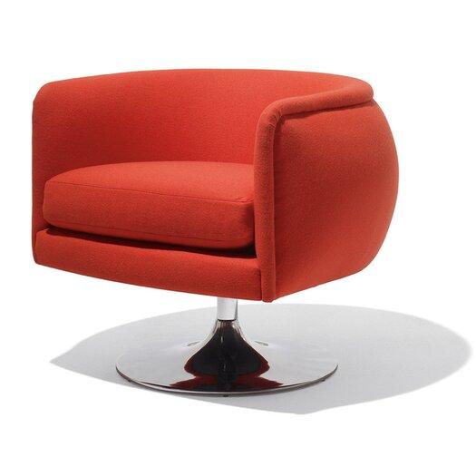 Knoll ® D'Urso Swivel Lounge Chair