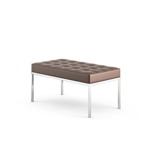 Knoll ® Florence Knoll Two Seater Bench