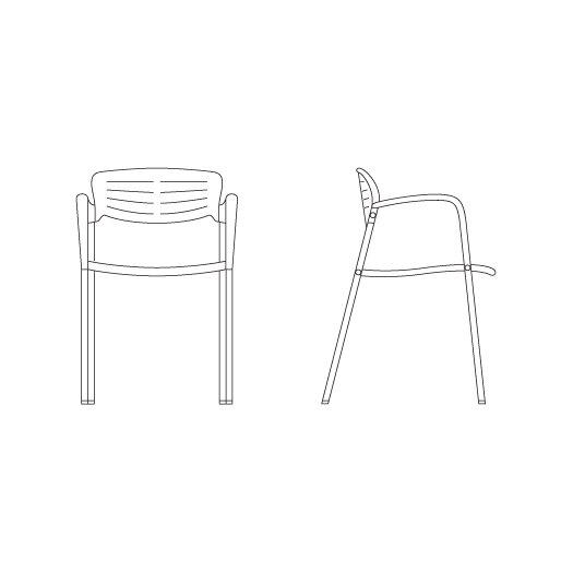 Knoll ® Jorge Pensi Toledo Chair