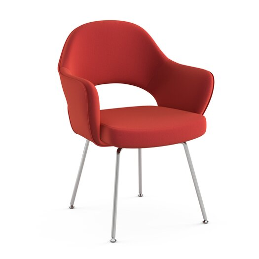 Saarinen Executive Armchair with Tubular Leg
